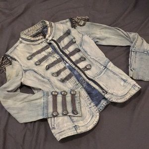 Well-loved Denim Marching Jacket
